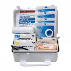 #10 Weatherproof Plastic ANSI First Aid Kit