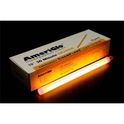 10-inch Safety ChemFlare, 30 Minute, Orange