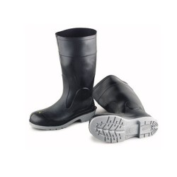 """15"""" Polyblend Black Steel Toe with Tunnel Outsole (Men's sizes 7 - 16)"""
