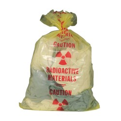 Radioactive Waste Poly Bags (3 mil)
